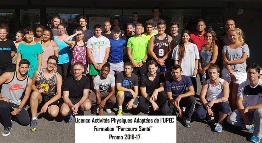 cours parcours santé de l'UPEC